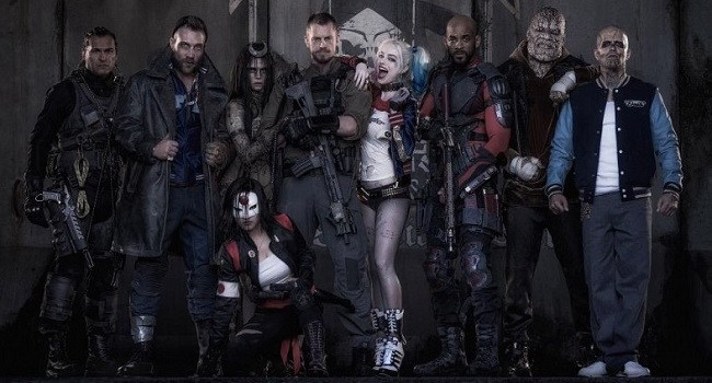 Suicide Squad Team Promo Photo