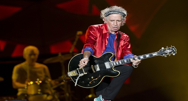 Keith Richards Under the Influence
