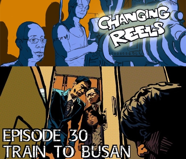 Train to Busan w-banner and text