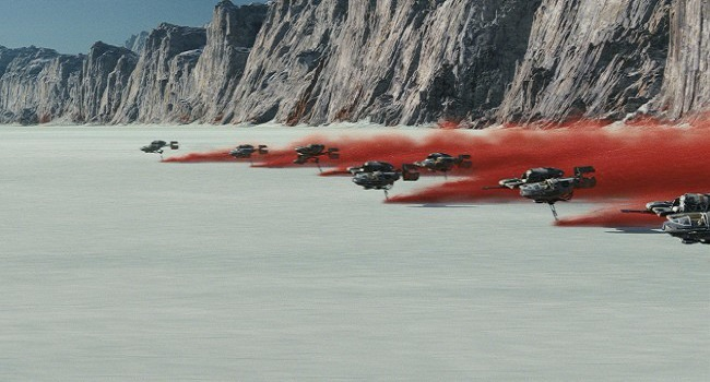 The Last Jedi-Crait