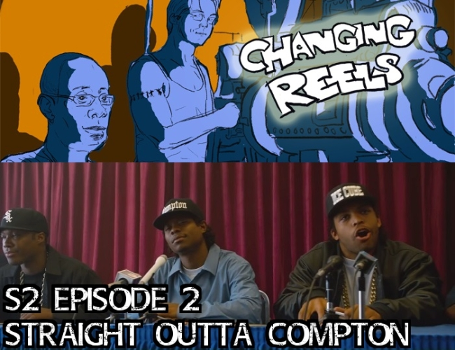 Straight Outta Compton w-banner and text